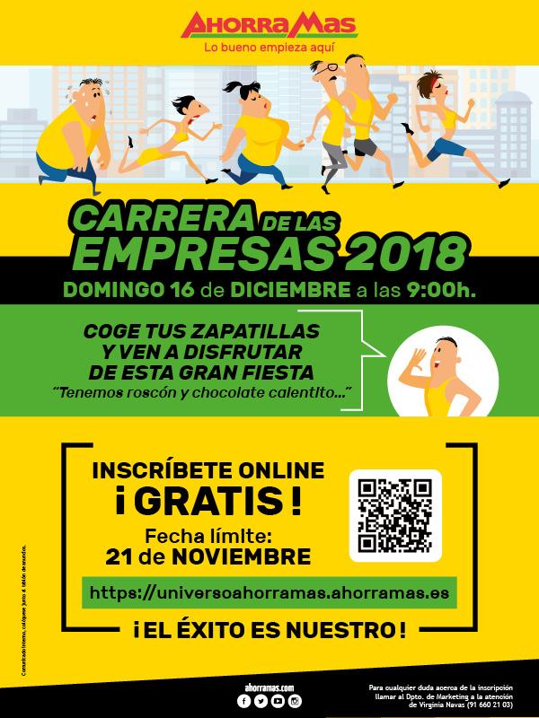 CARRERA DE LAS EMPRESAS 2018