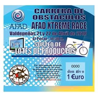 CARRERA DE OBSTACULOS AFAD XTREME RACE